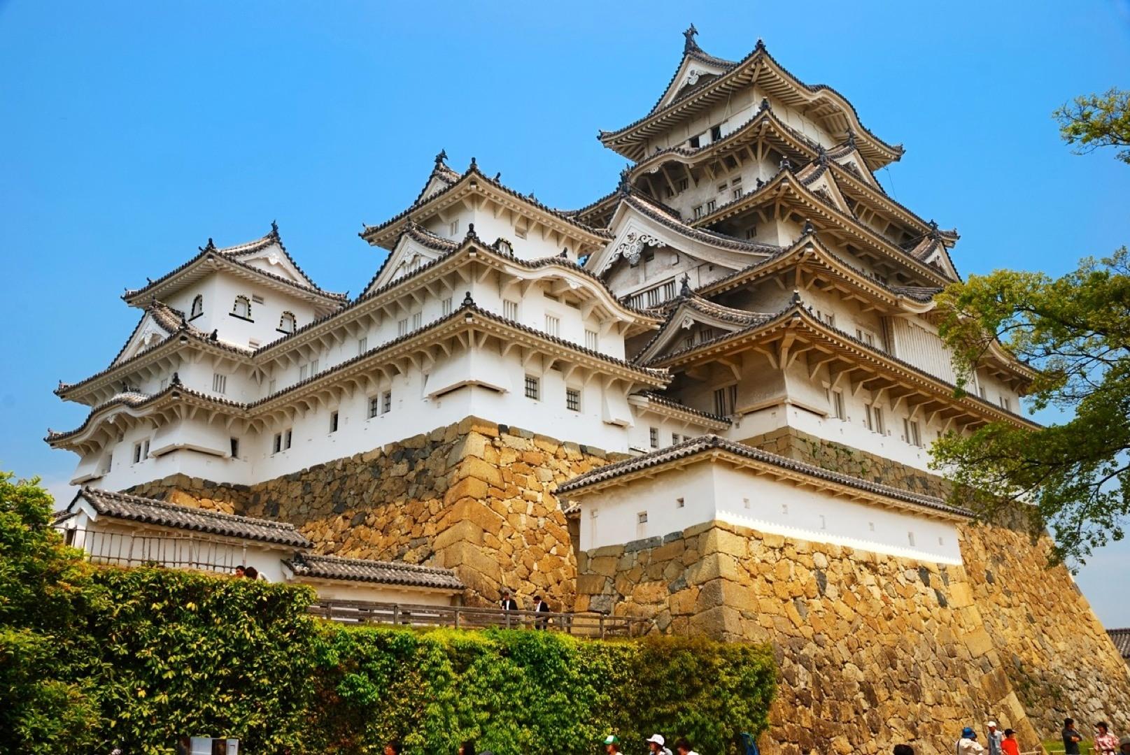 Lâu đài Himeji của Nhật Bản