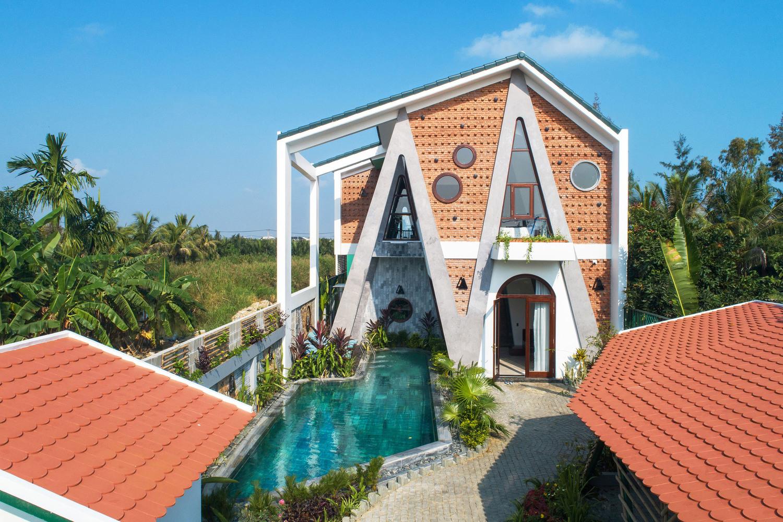 Kiến trúc mới mẻ của căn villa