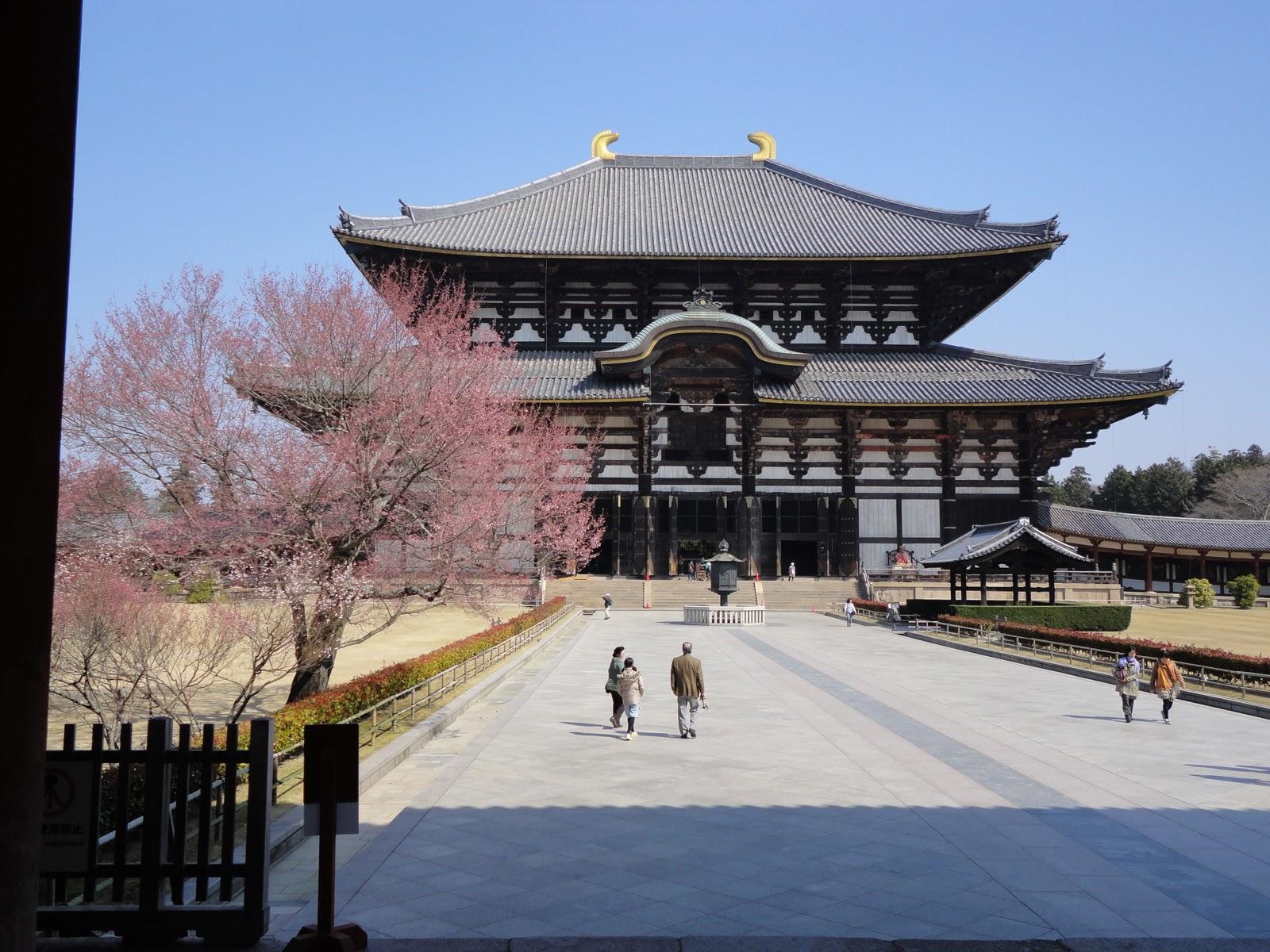 Ngôi chùa Todaiji cổ kính nhất Nara Nhật Bản