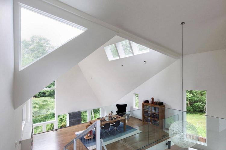 Ô lấy sáng trong thiết kế kiến trúc ngôi nhà