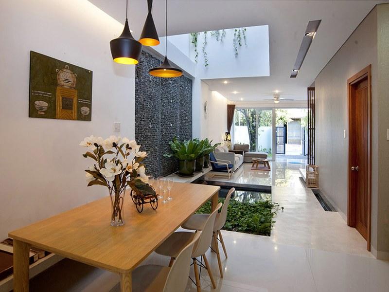 Thiết kế giếng trời khéo léo cho ngôi nhà của bạn có thêm điểm nhấn