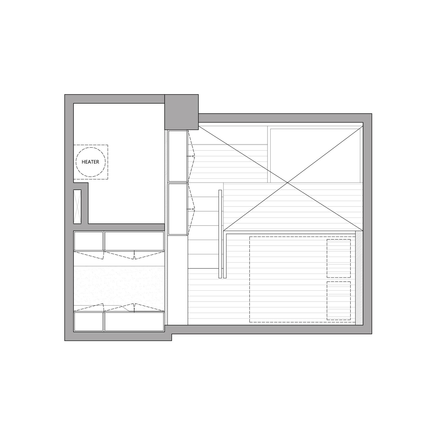 Thiết kế nội thất căn hộ 50m2 10