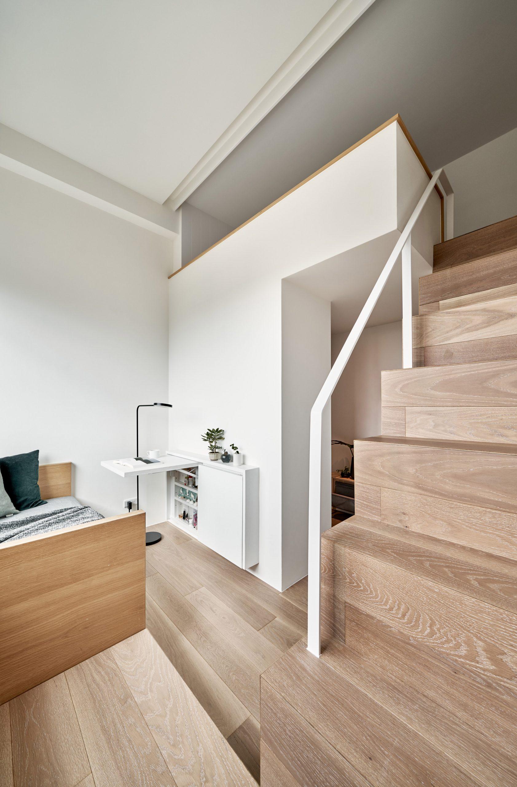 Thiết kế nội thất căn hộ 50m2 2