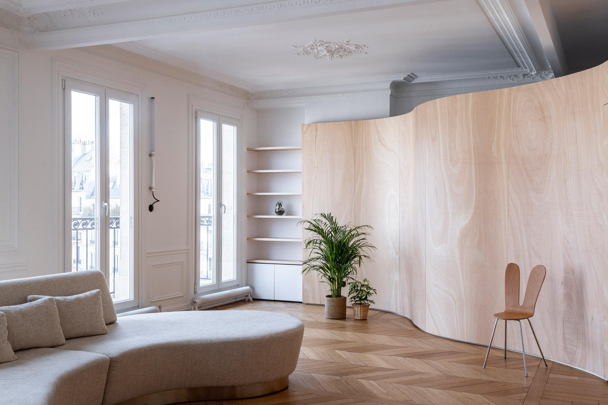Thiết kế nội thất căn hộ 90m2 1