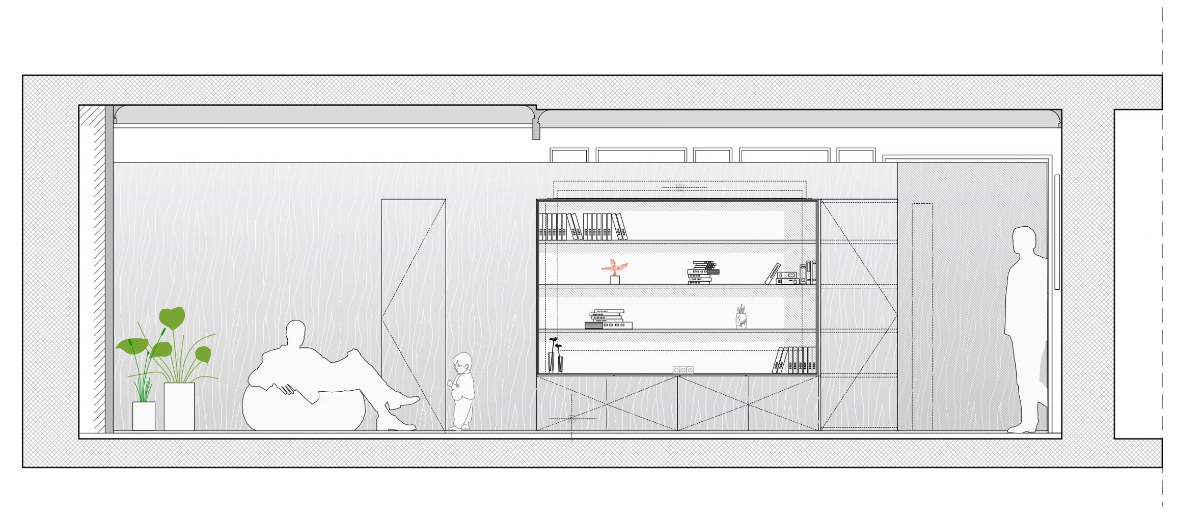 Thiết kế nội thất căn hộ 90m2 10