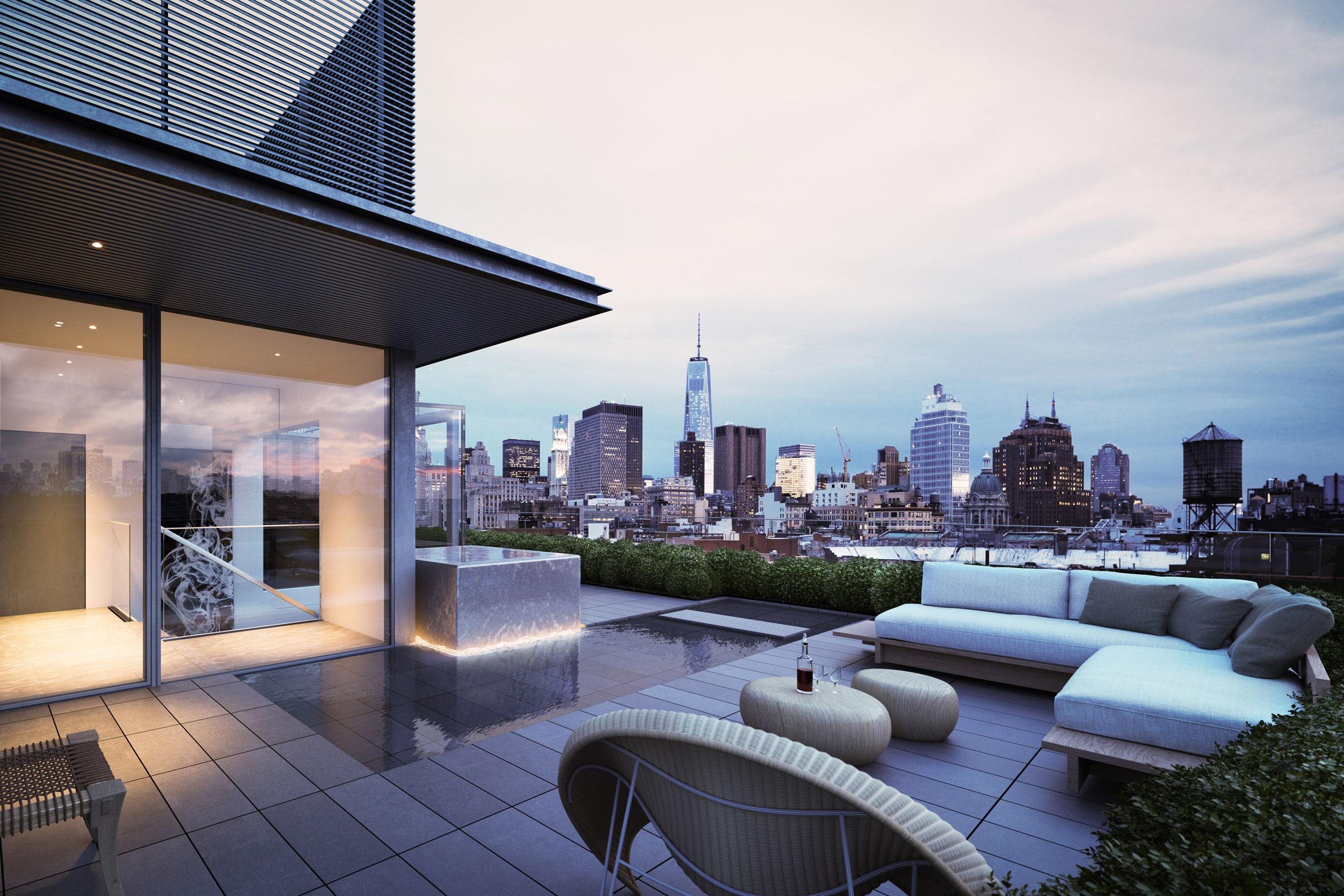 Thiết kế nội thất căn hộ Duplex 1