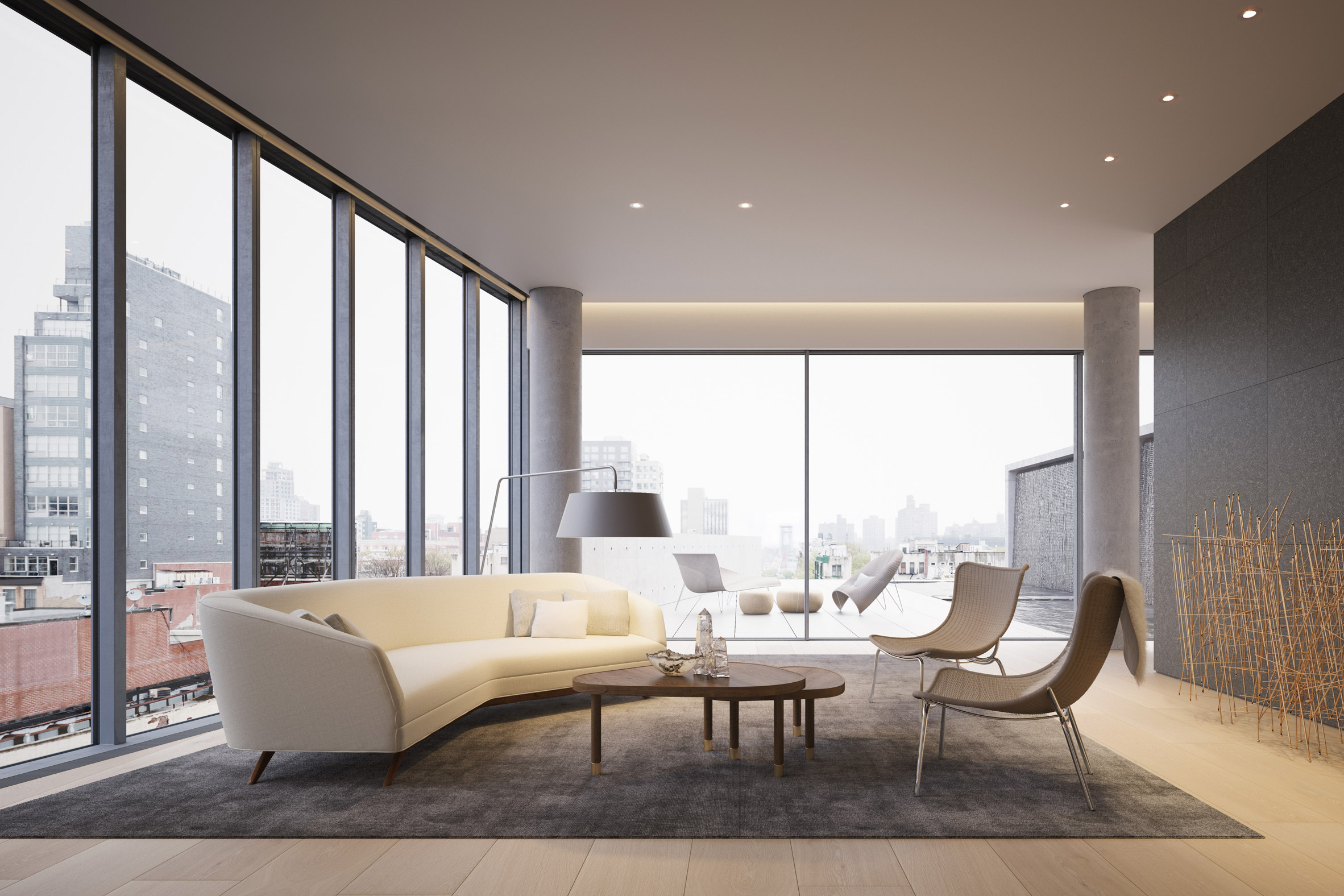 Thiết kế nội thất căn hộ Duplex 3