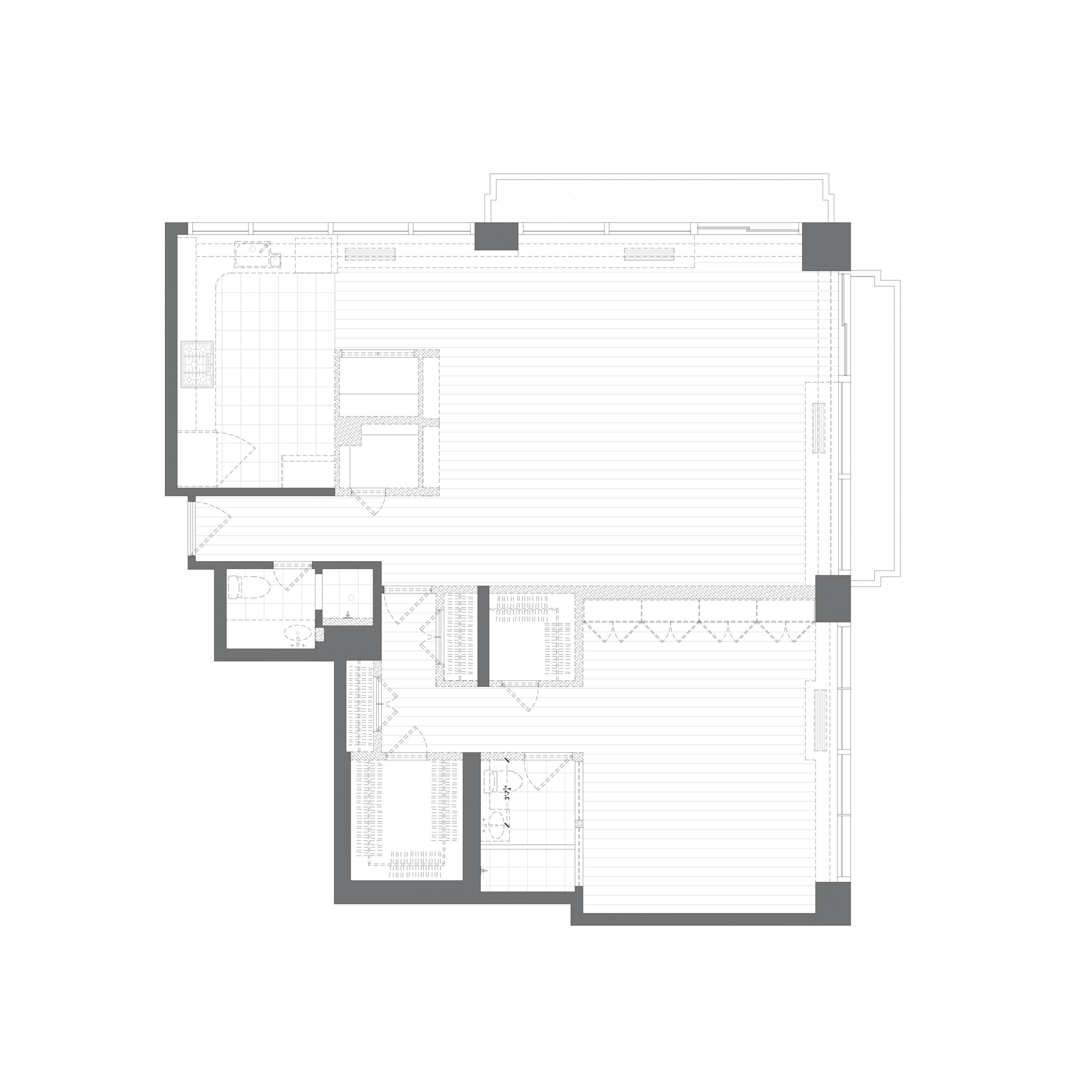 Thiết kế nội thất chung cư 105m2 8