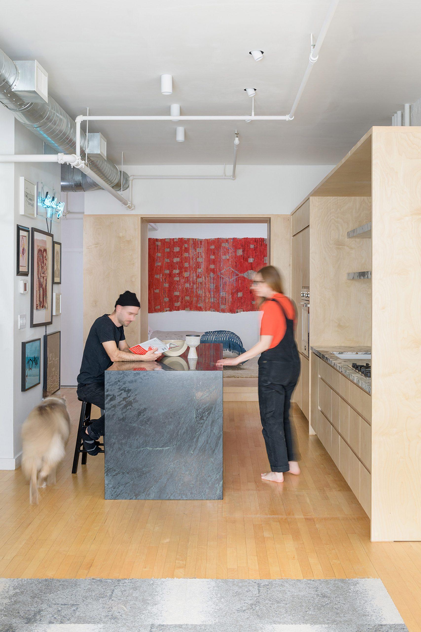 Thiết kế nội thất chung cư 72m2 1