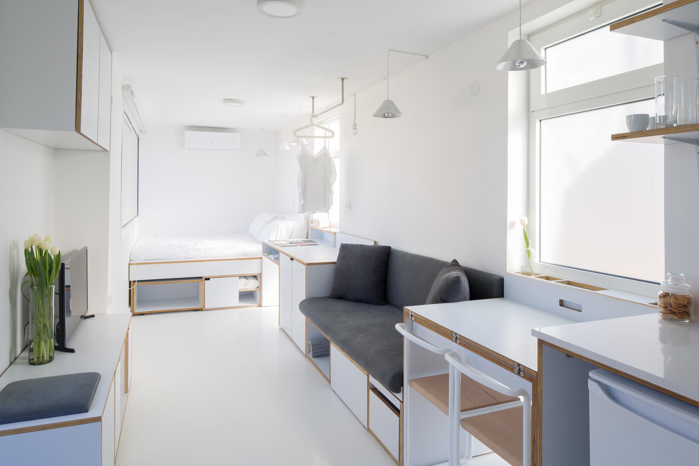 Thiết kế nội thất nhà chung cư 30m2 2