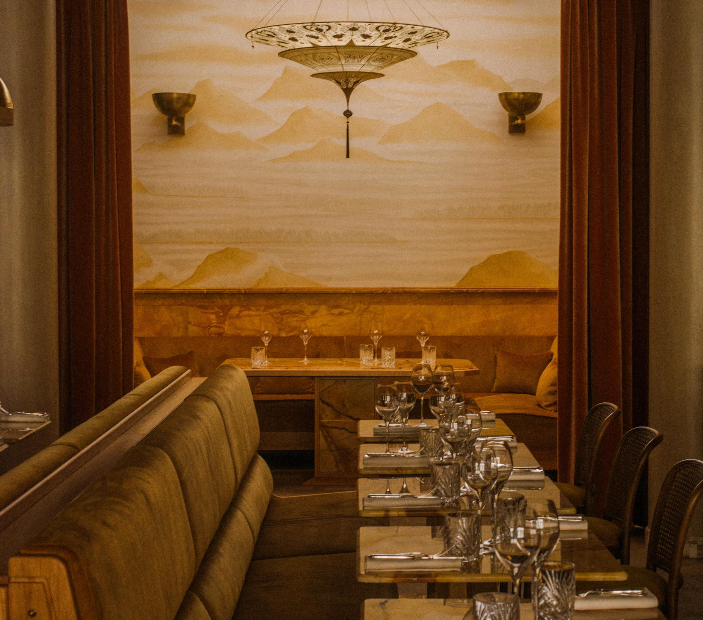 Thiết kế nội thất nhà hàng 11