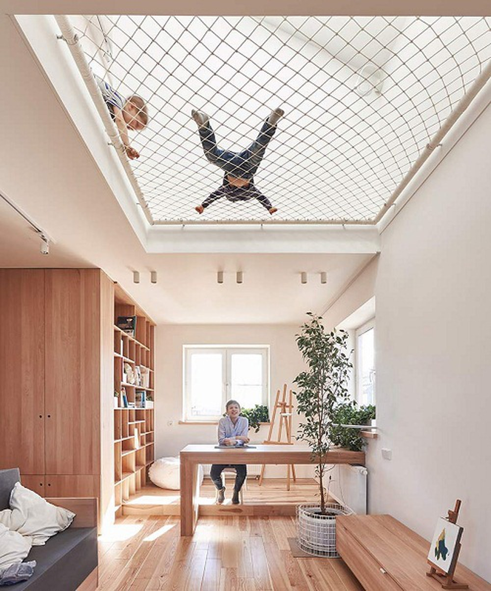 Thiết kế nội thất tạo ánh sáng trong ngôi nhà