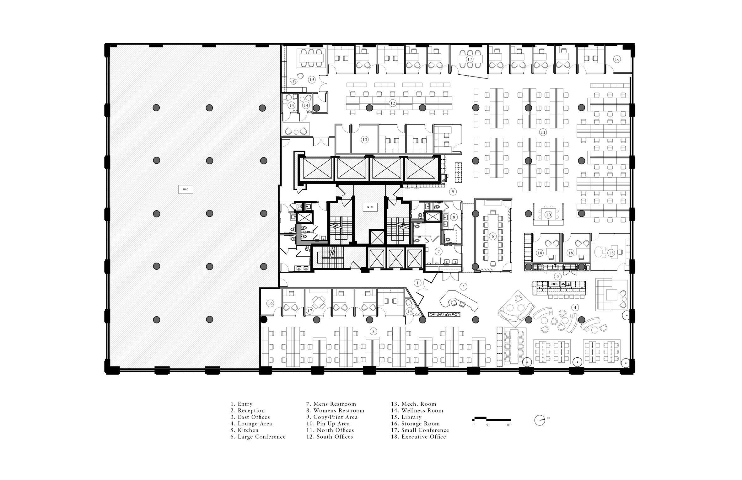Thiết kế nội thất văn phòng cao cấp 9