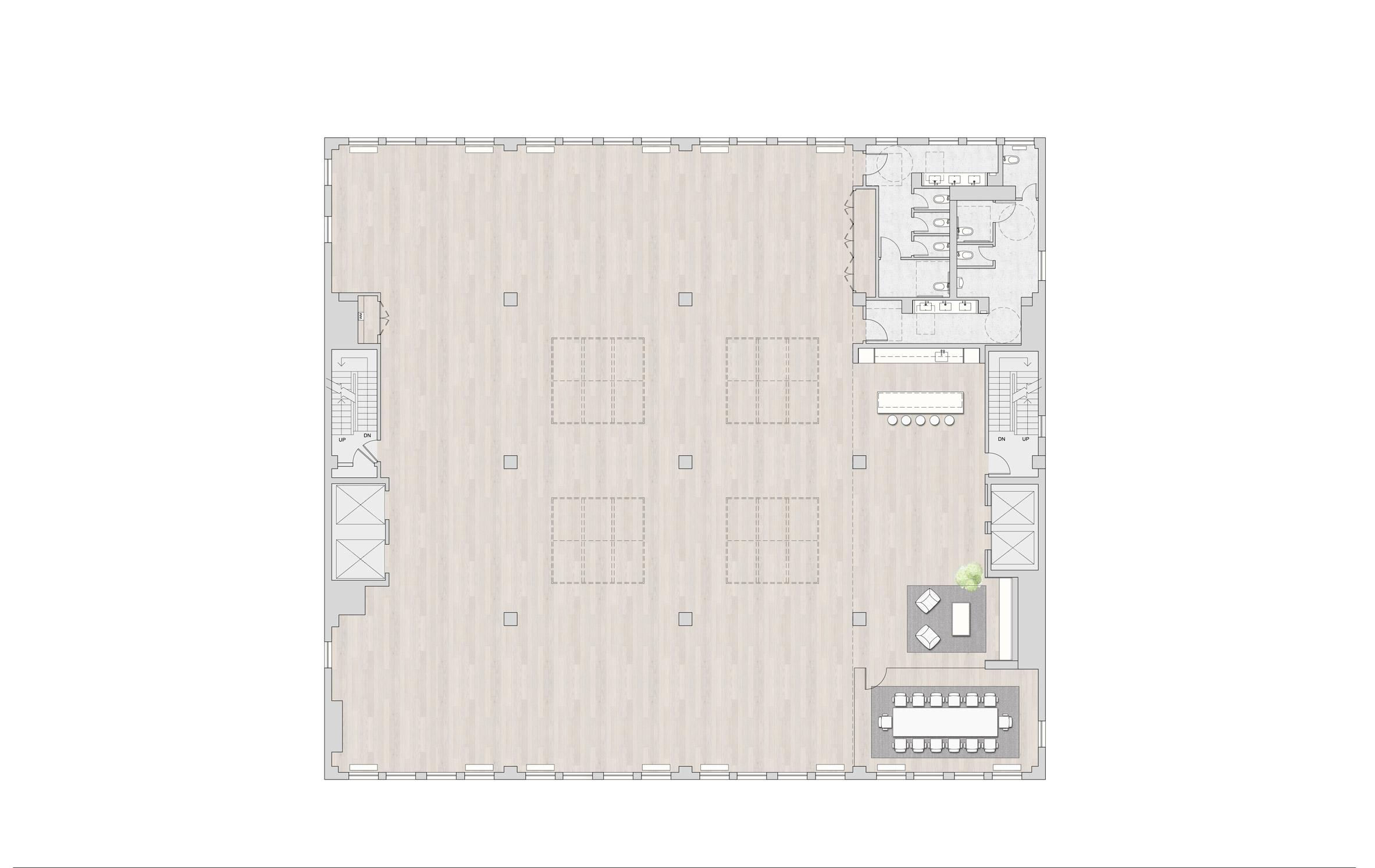 Thiết kế văn phòng hiện đại 9