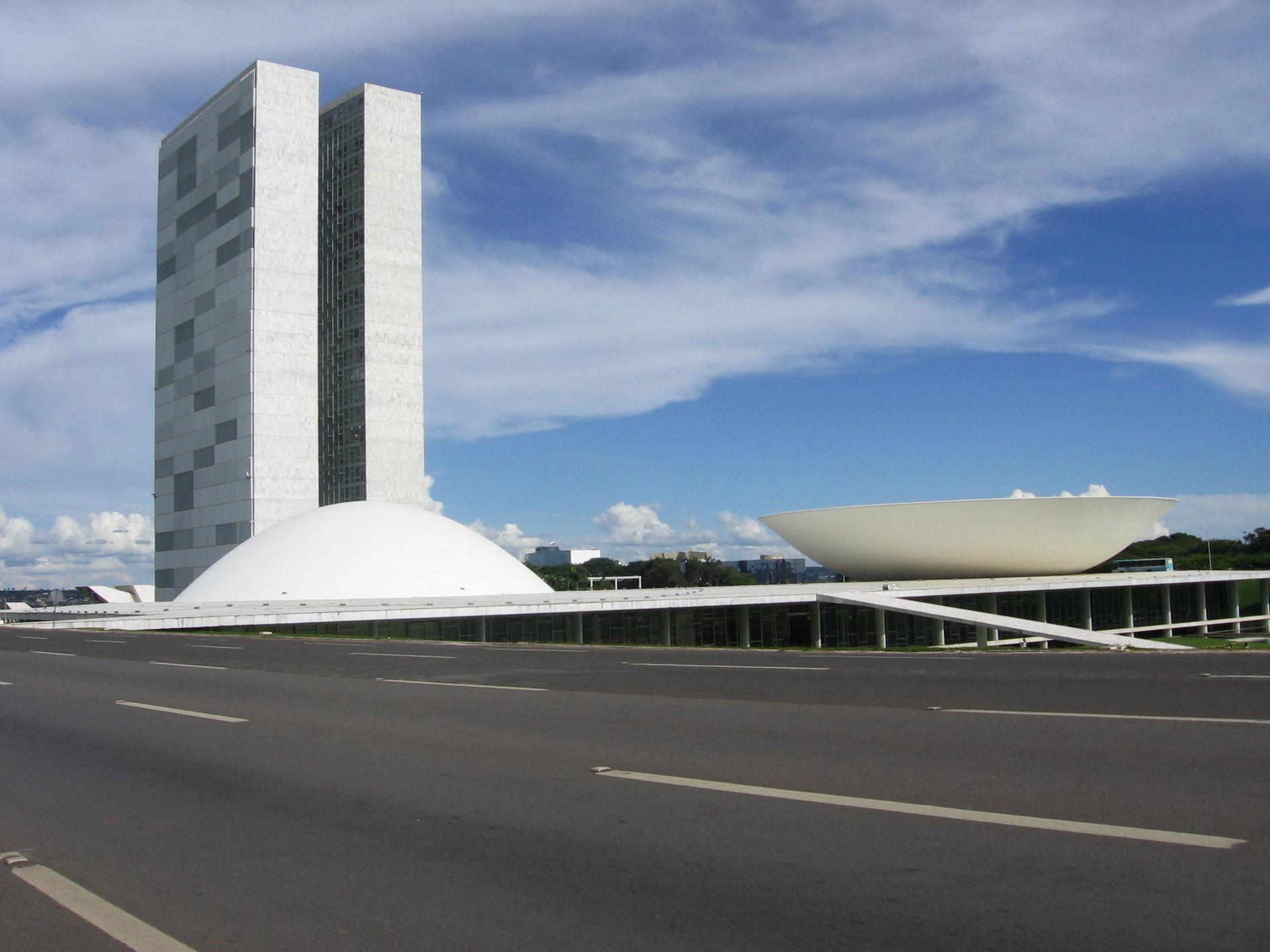 Toà nhà Quốc hội của Brasil có Toà nhà Quốc hội của Brasil có kiến trúc hiện đại