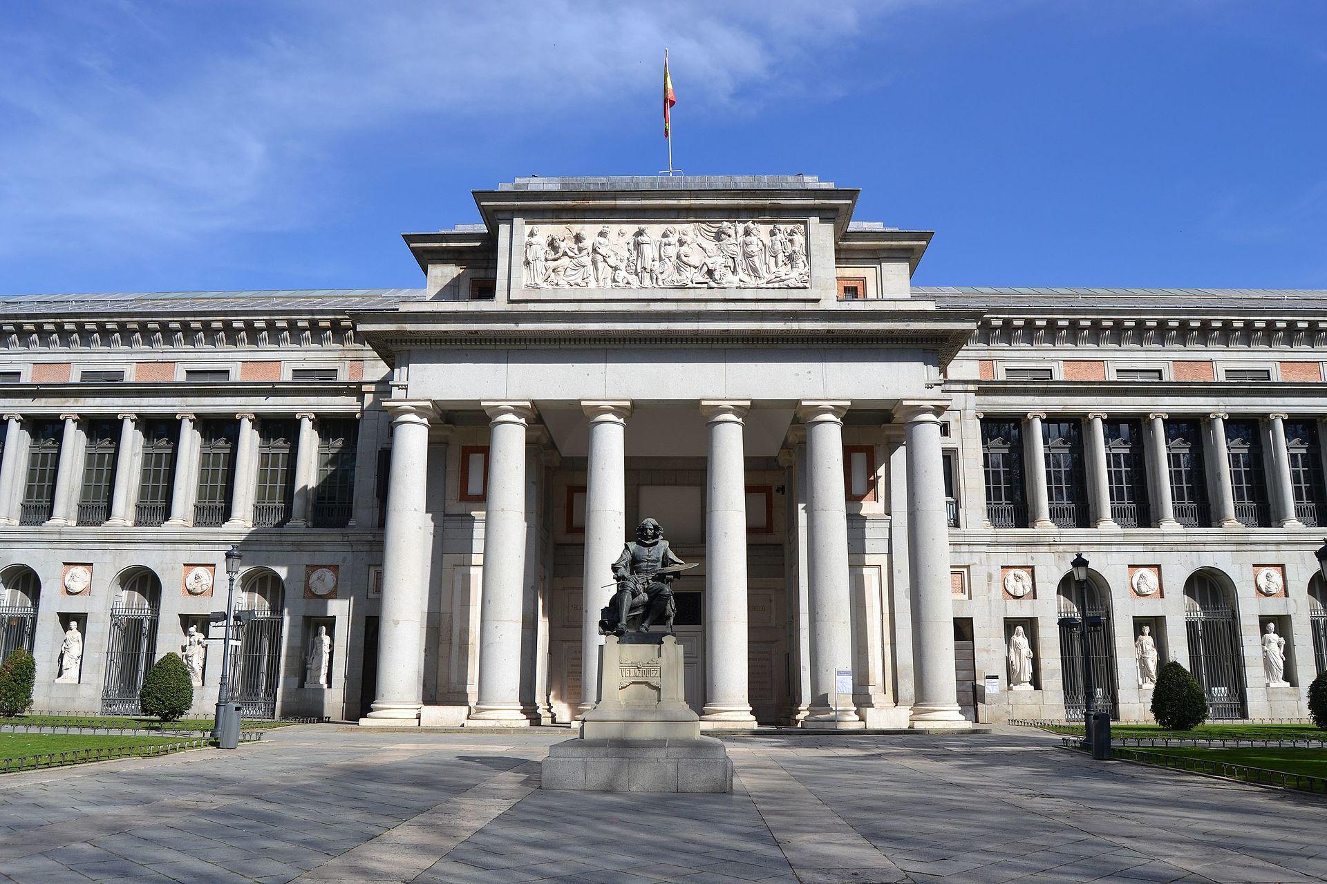 Kiến trúc tân cổ điển Bảo tàng Prado Madrid