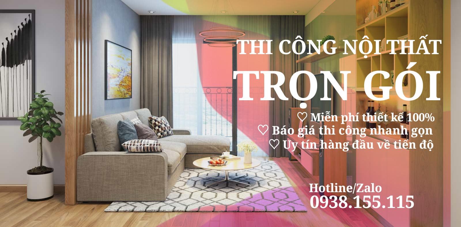 Thiết kế nội thất trọn gói Tphcm