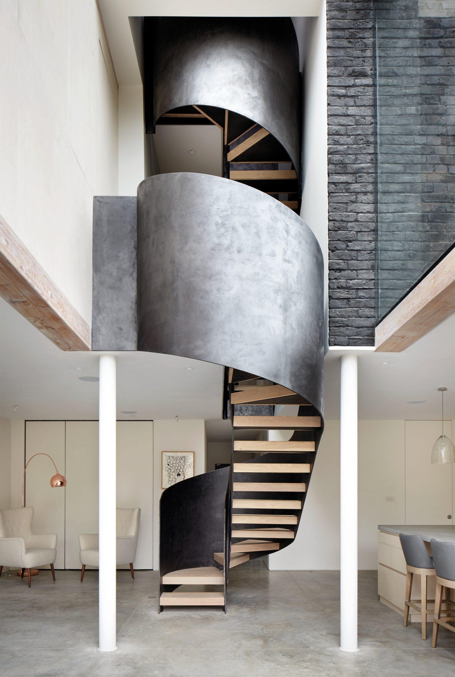 Các kiểu cầu thang tiết kiệm diện tích 2