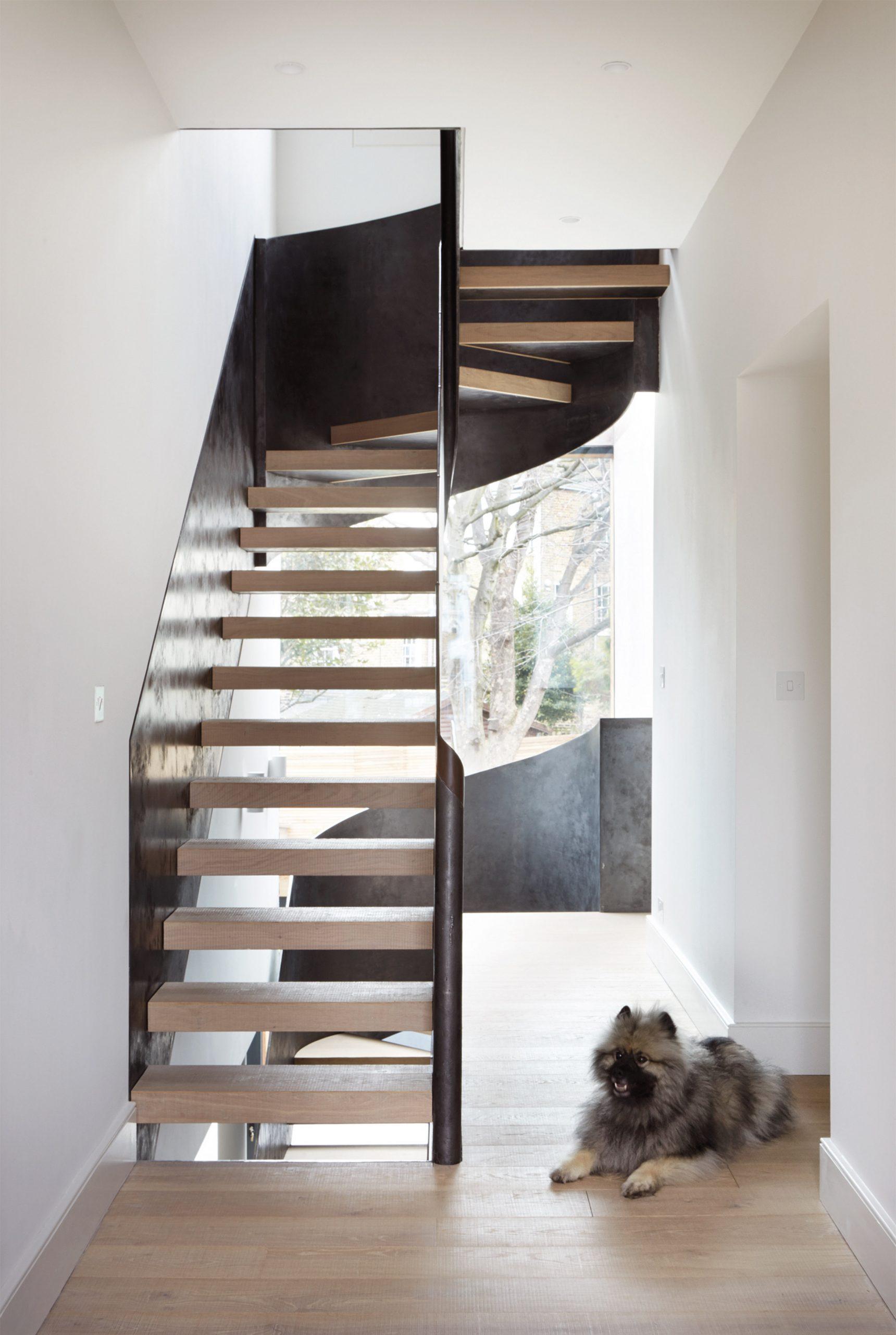 Các kiểu cầu thang tiết kiệm diện tích 3