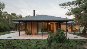 Công tythiết kế cảnh quan đã xây dựng nhà nghỉ lấy cảm hứng từ kiến trúc Nhật Bản