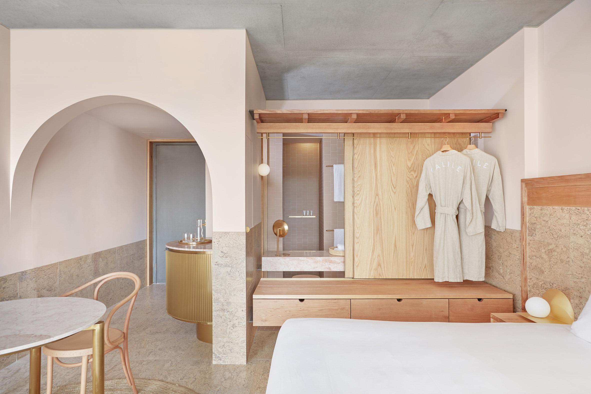 Mẫu phòng ngủ khách sạn 1
