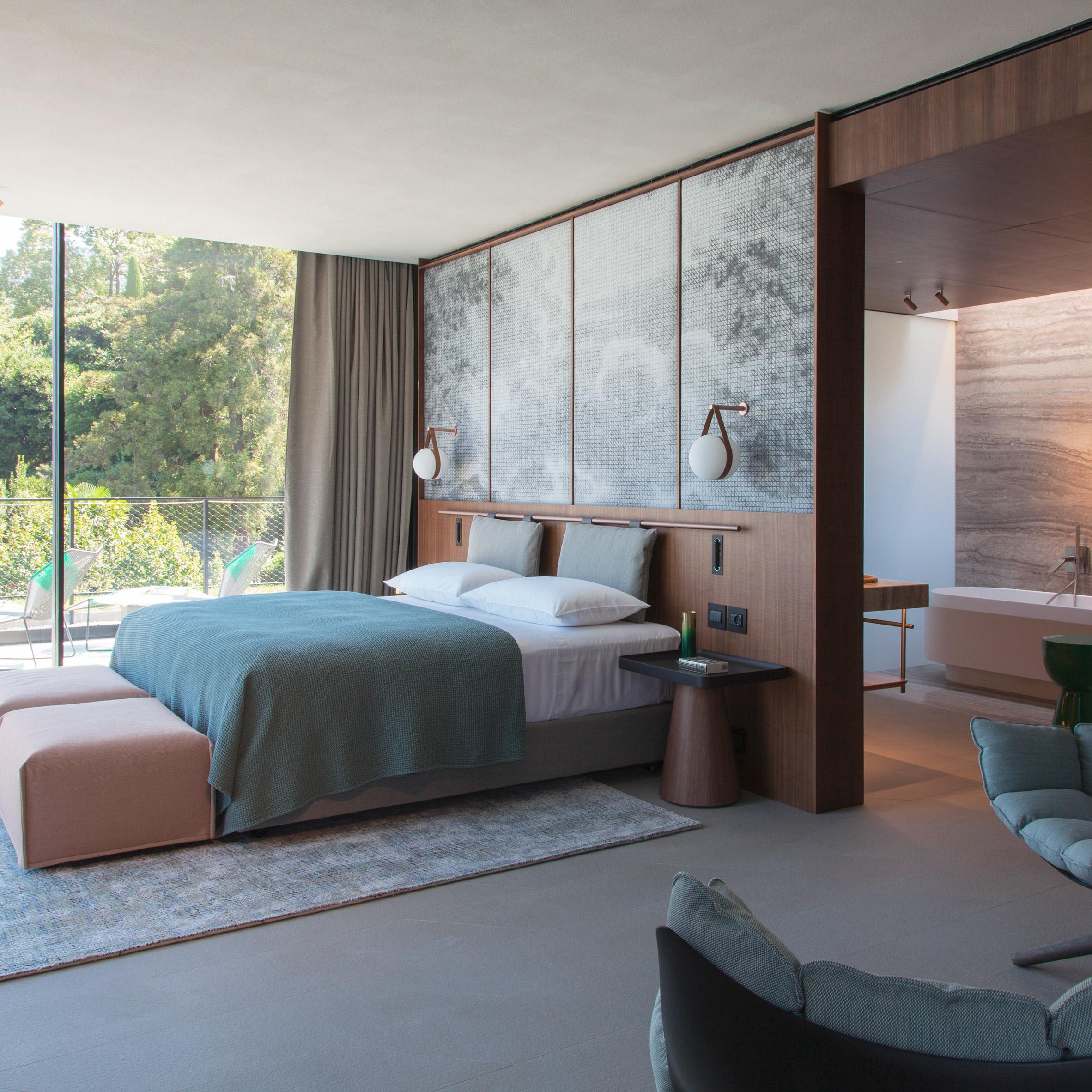 Mẫu phòng ngủ khách sạn 13