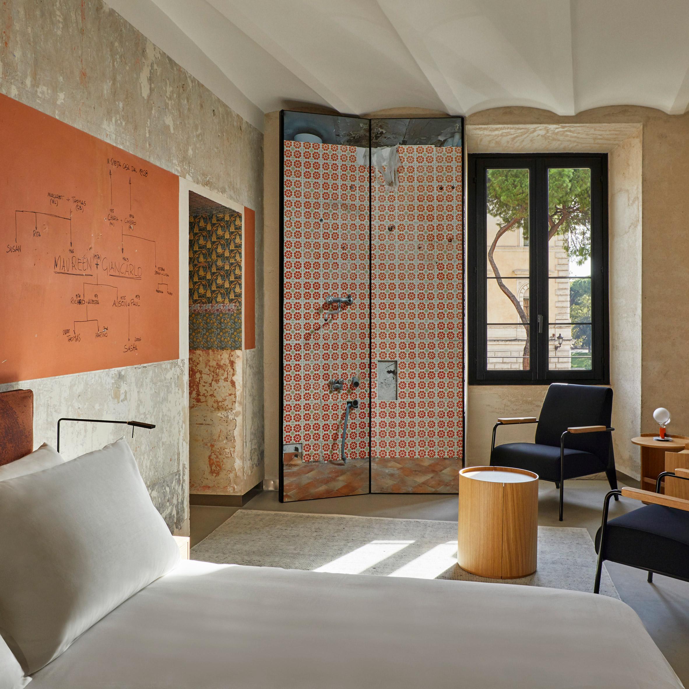 Mẫu phòng ngủ khách sạn 14