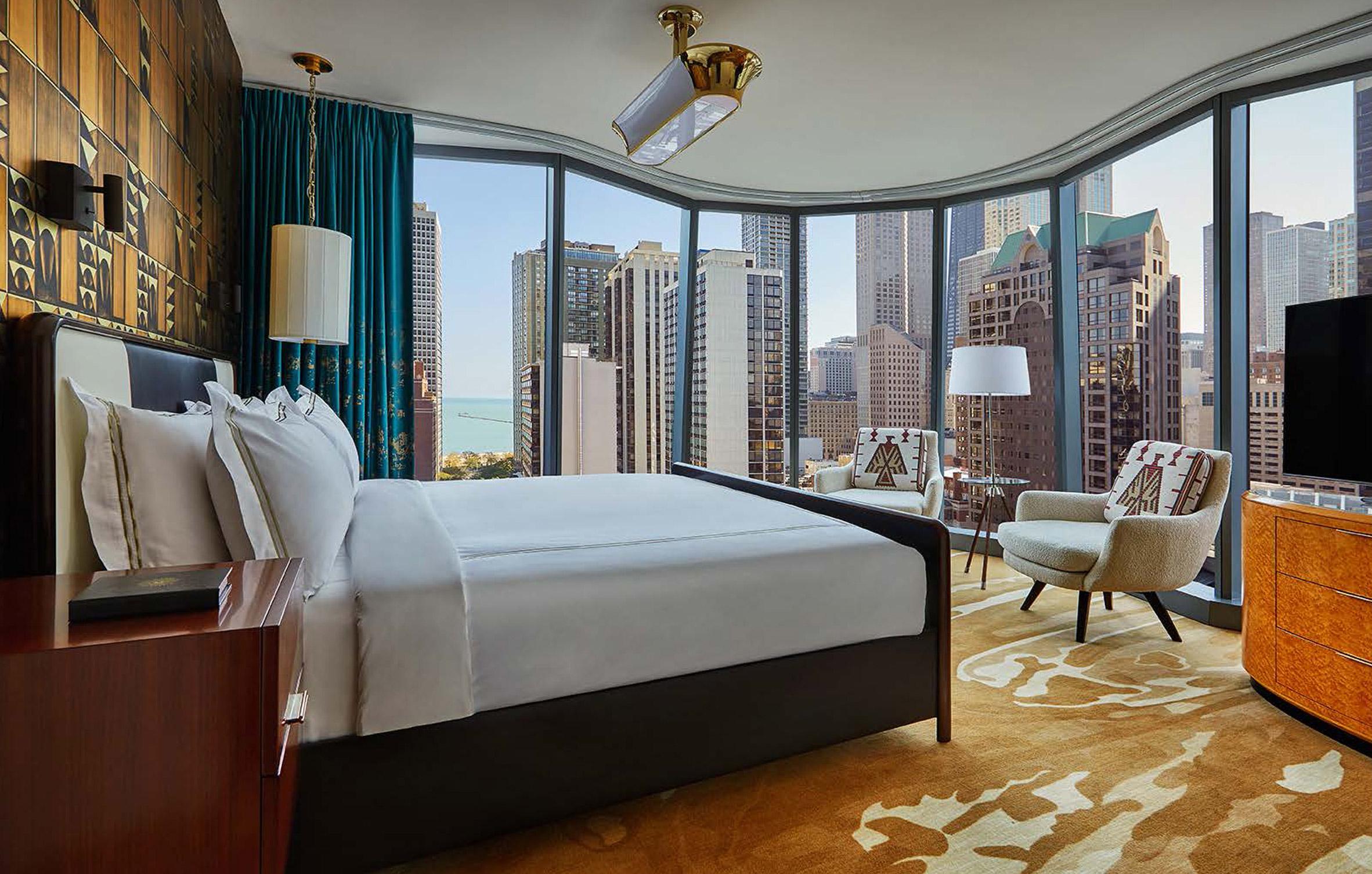 Mẫu phòng ngủ khách sạn 9