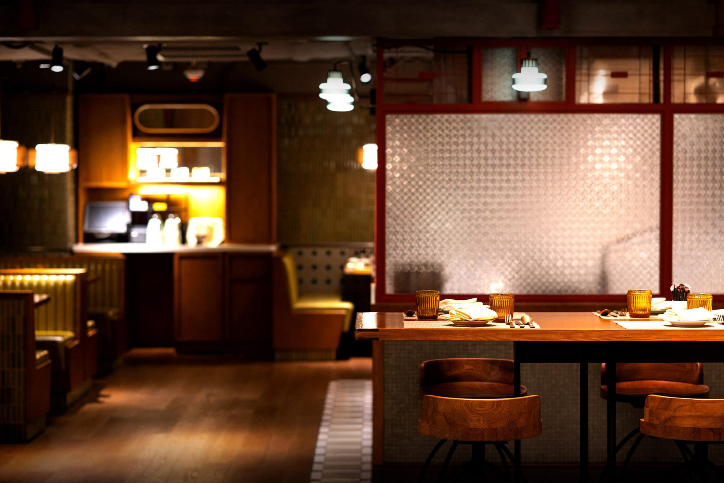 Nội thất nhà hàngăn uống 13