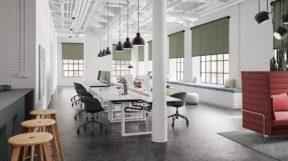 Rèm Vải Tự Động làm giảm mức tiêu thụ điện năng ở các tòa nhà văn phòng