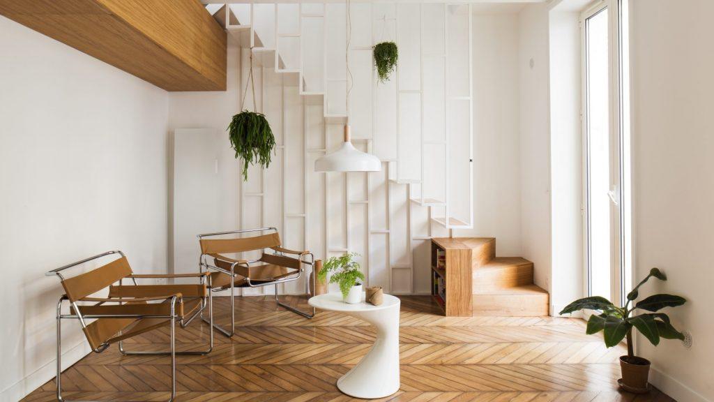 Thiết kế cầu thang cho nhà nhỏ 1