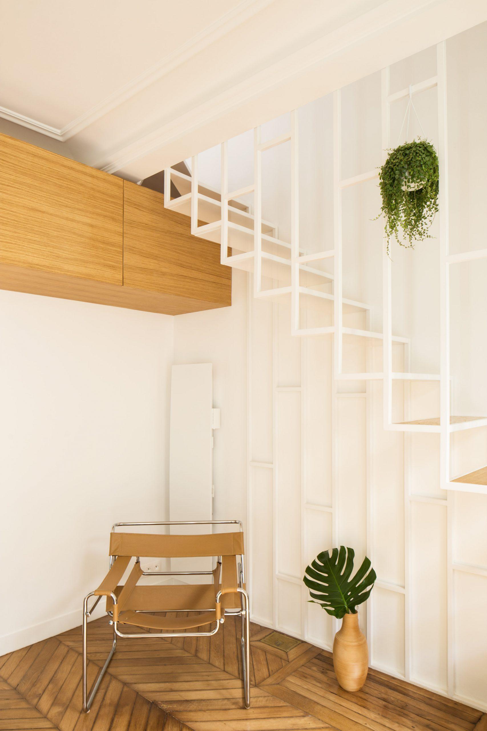 Thiết kế cầu thang cho nhà nhỏ 6