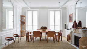Thiết kế nội thất biệt thựcổ điển ở Paris