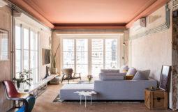 Cảm hứng thiết kế Nội Thất Căn Hộ 3 Phòng Ngủ đậm sắc màu