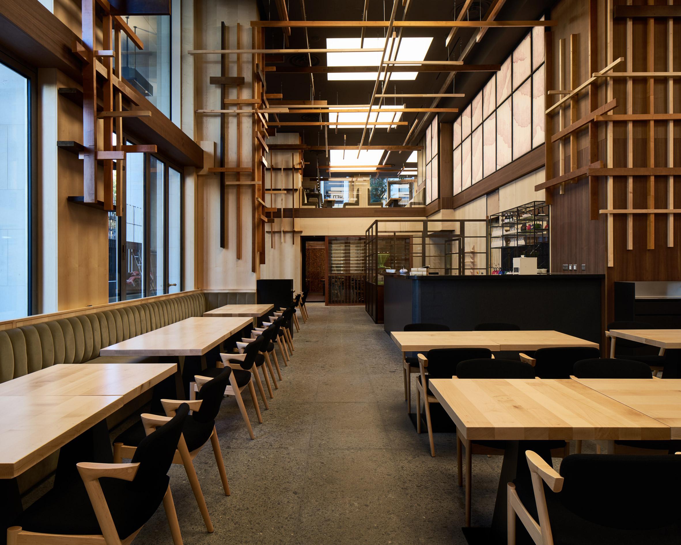 Thiết kế nội thất nhà hàng Nhật Bàn 13