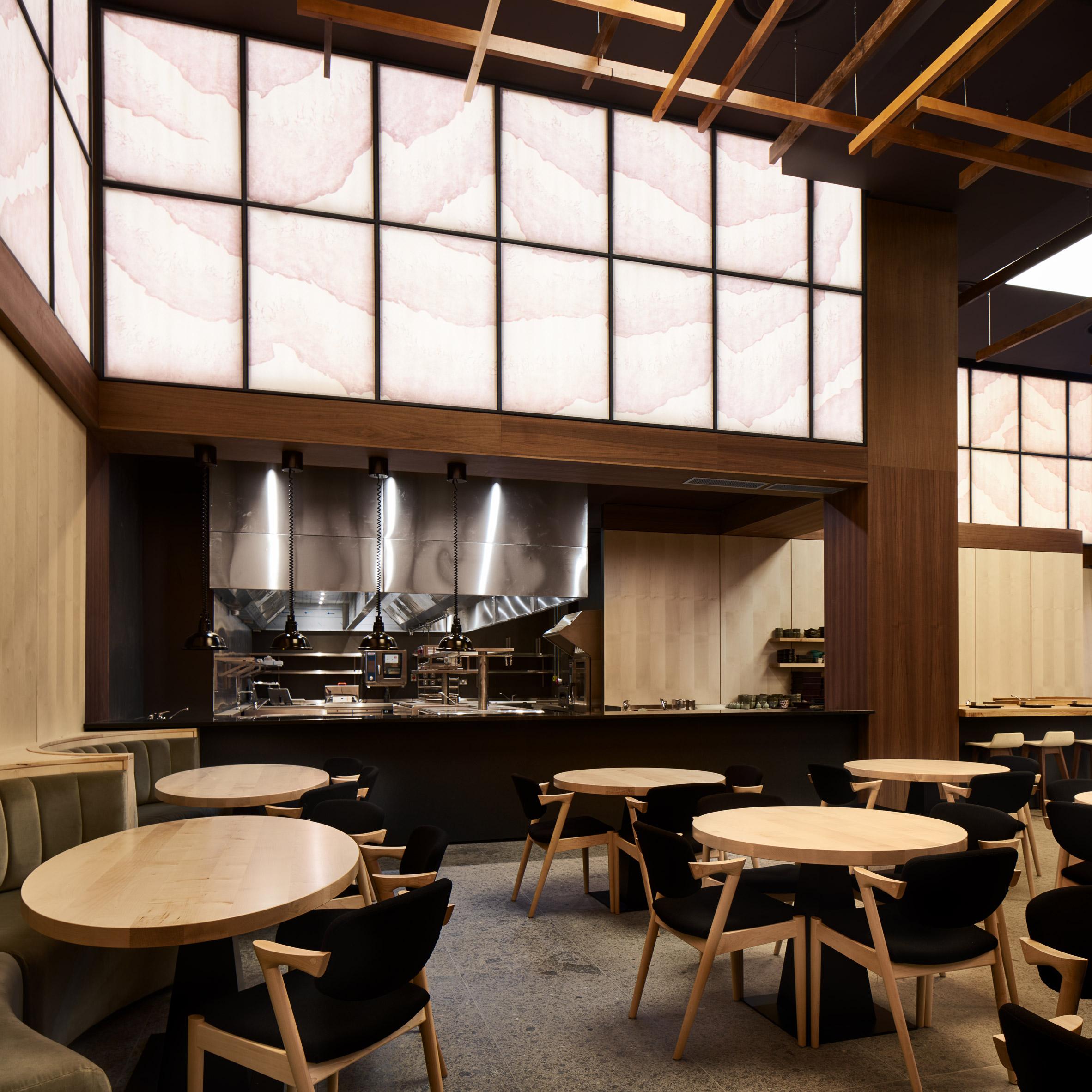 Thiết kế nội thất nhà hàng Nhật Bàn 5