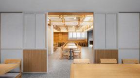 Thiết Kế Nội Thất Nhà Hàng Hàn Quốc với nội thất gỗ tinh tế