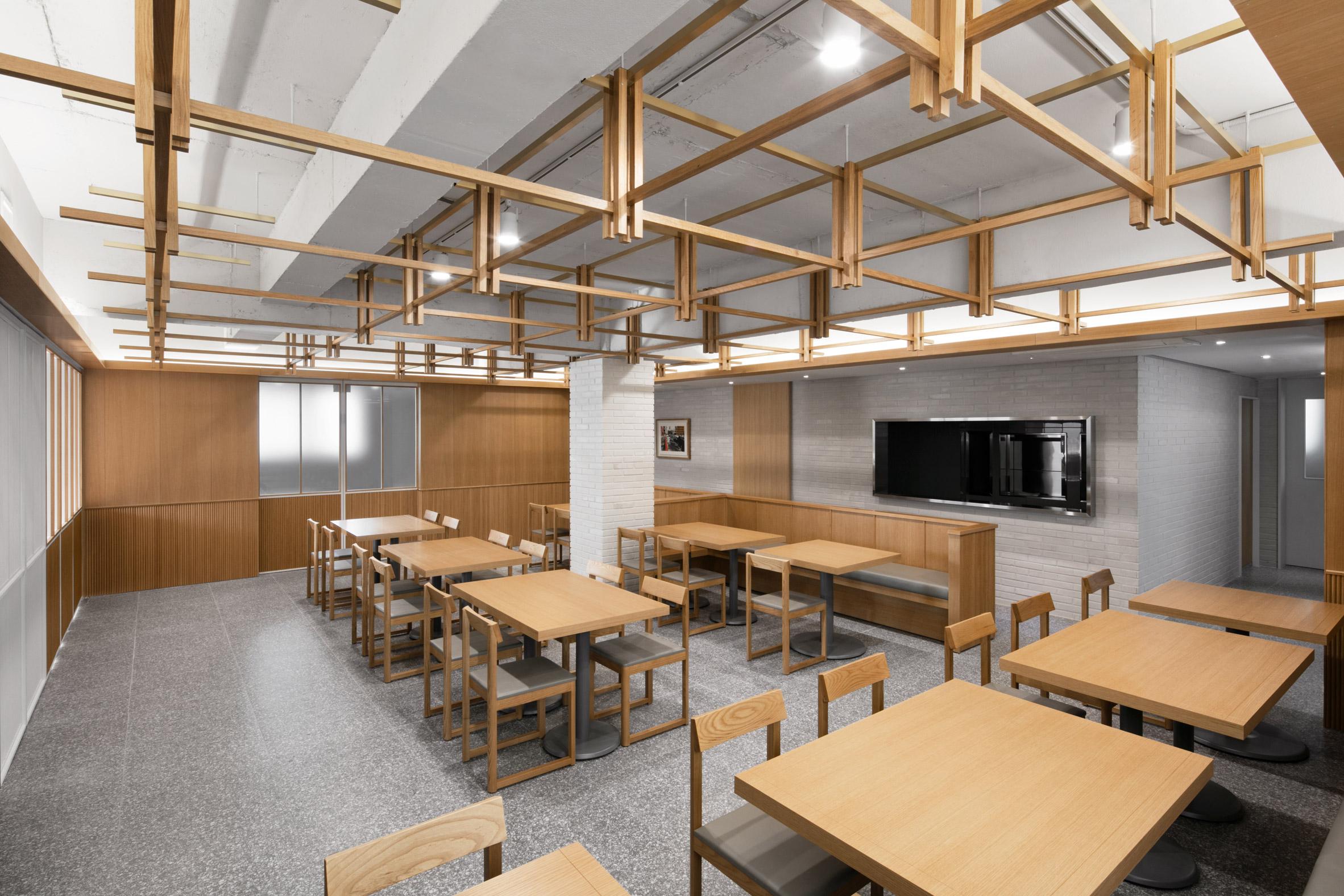 Thiết kế nội thất nhà hàng hàn quốc 1