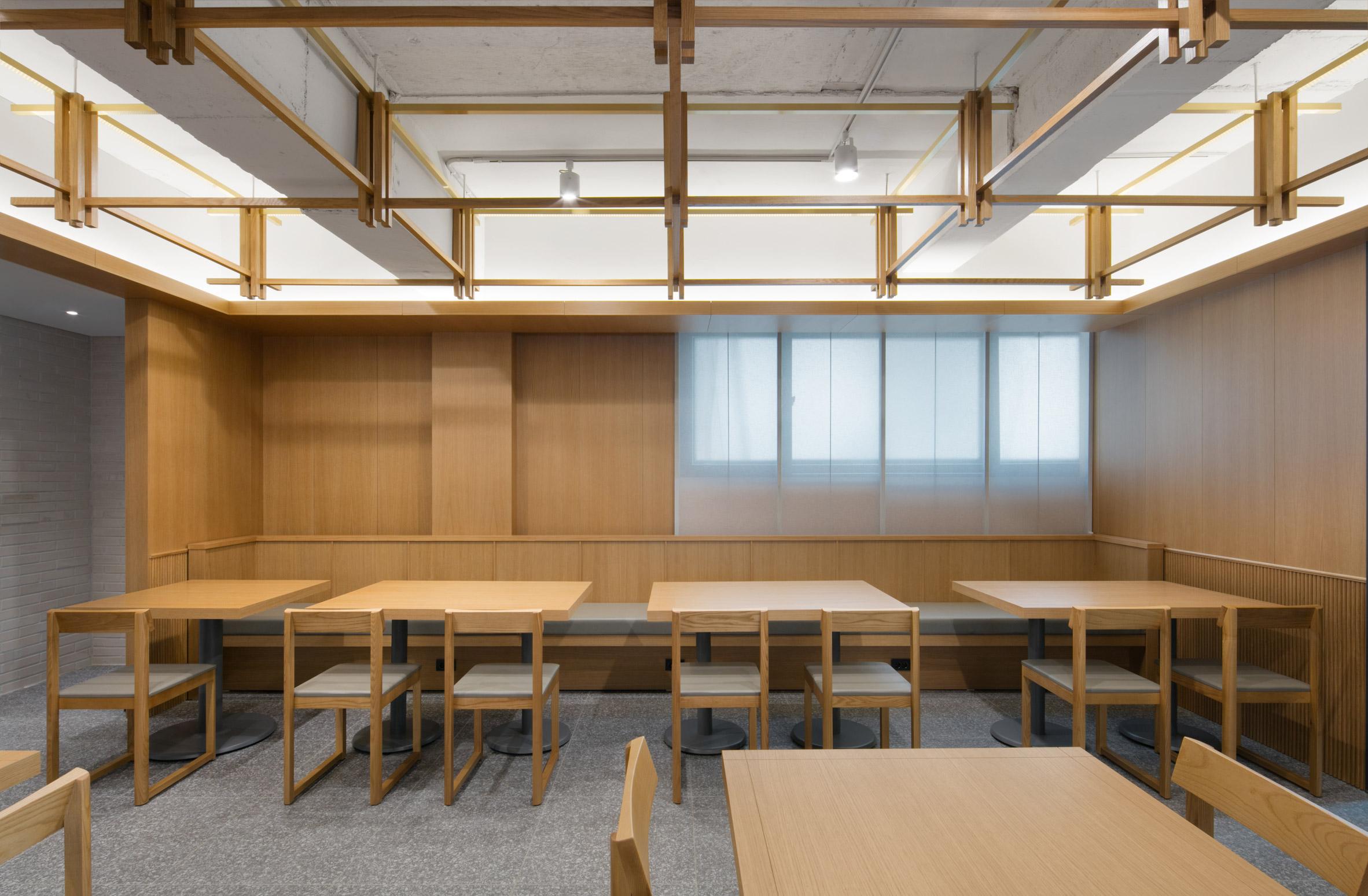 Thiết kế nội thất nhà hàng hàn quốc 12