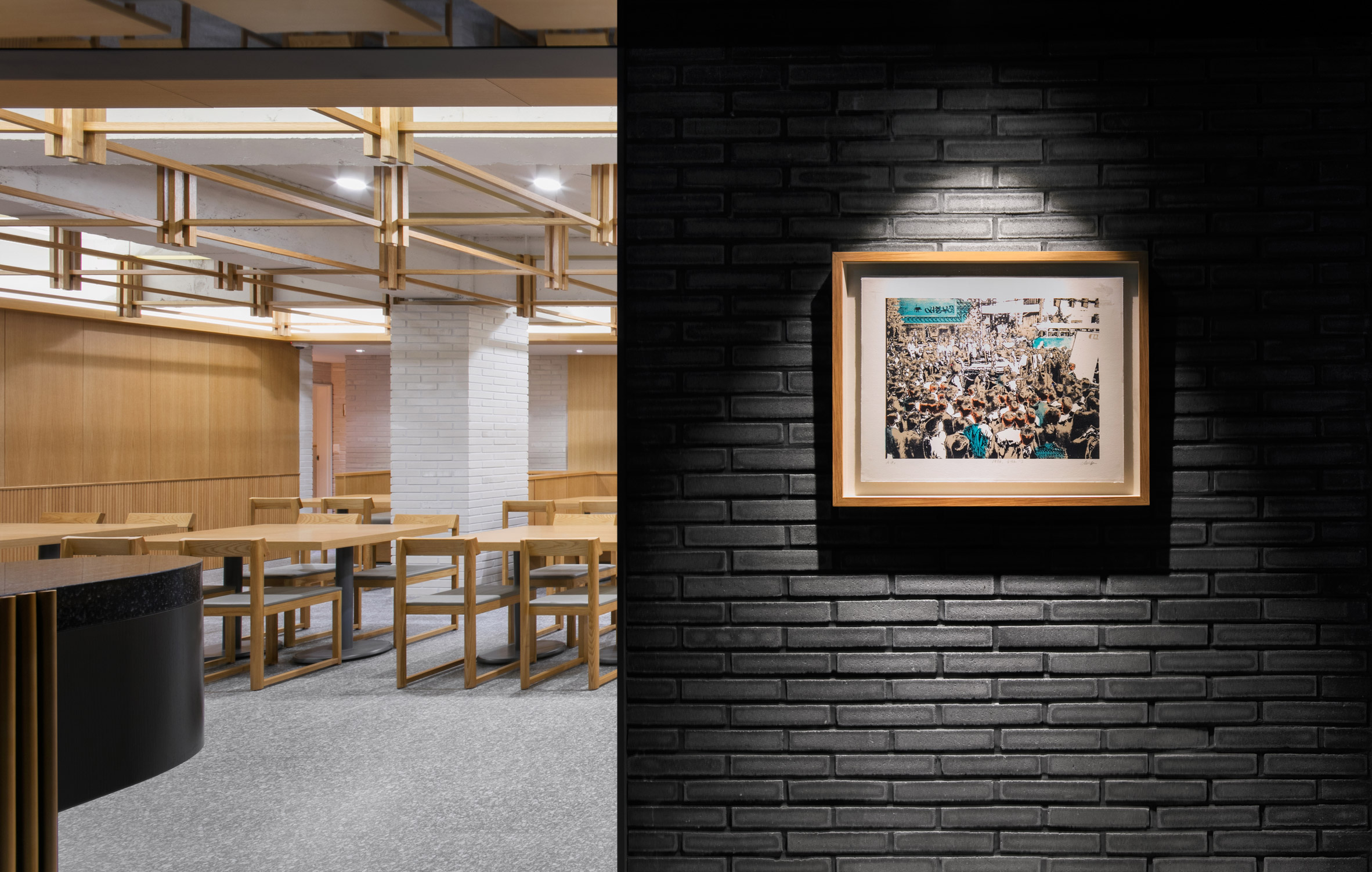 Thiết kế nội thất nhà hàng hàn quốc 19