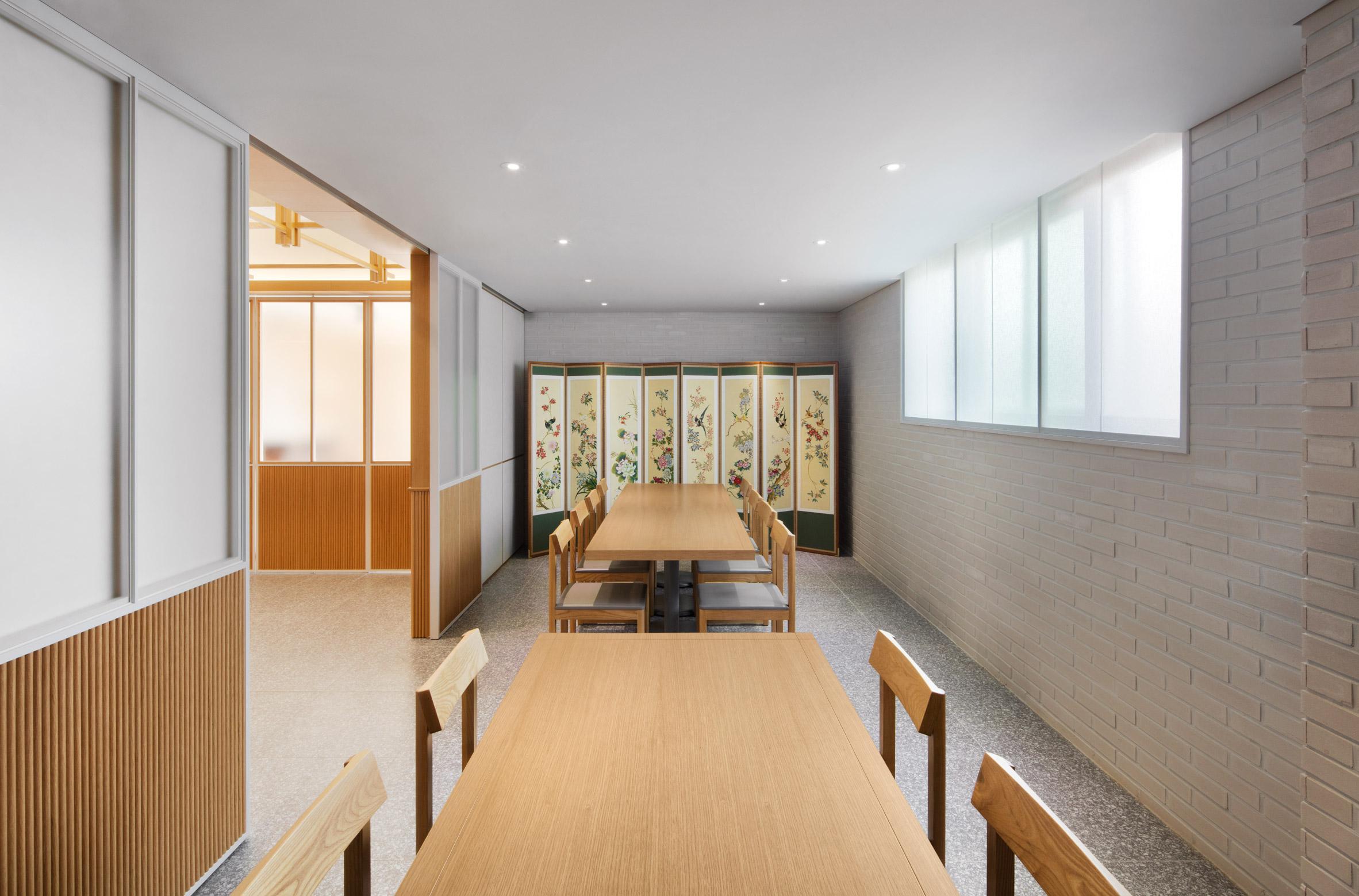 Thiết kế nội thất nhà hàng hàn quốc 2