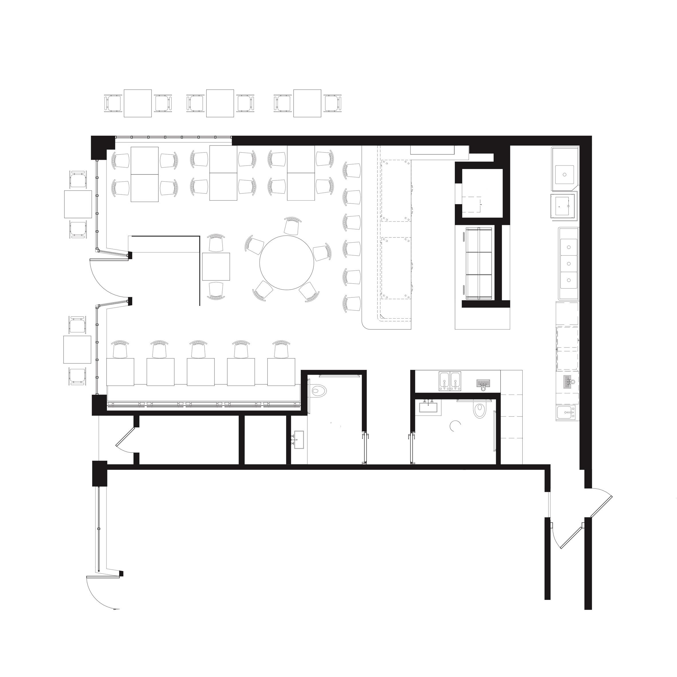 Thiết kếnội thất nhà hànghải sản 6