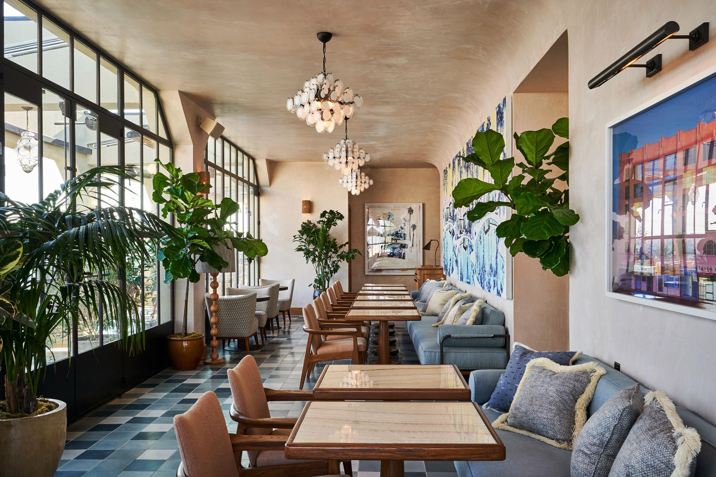 Thiết kế nội thất nhà hàng khách sạn 14