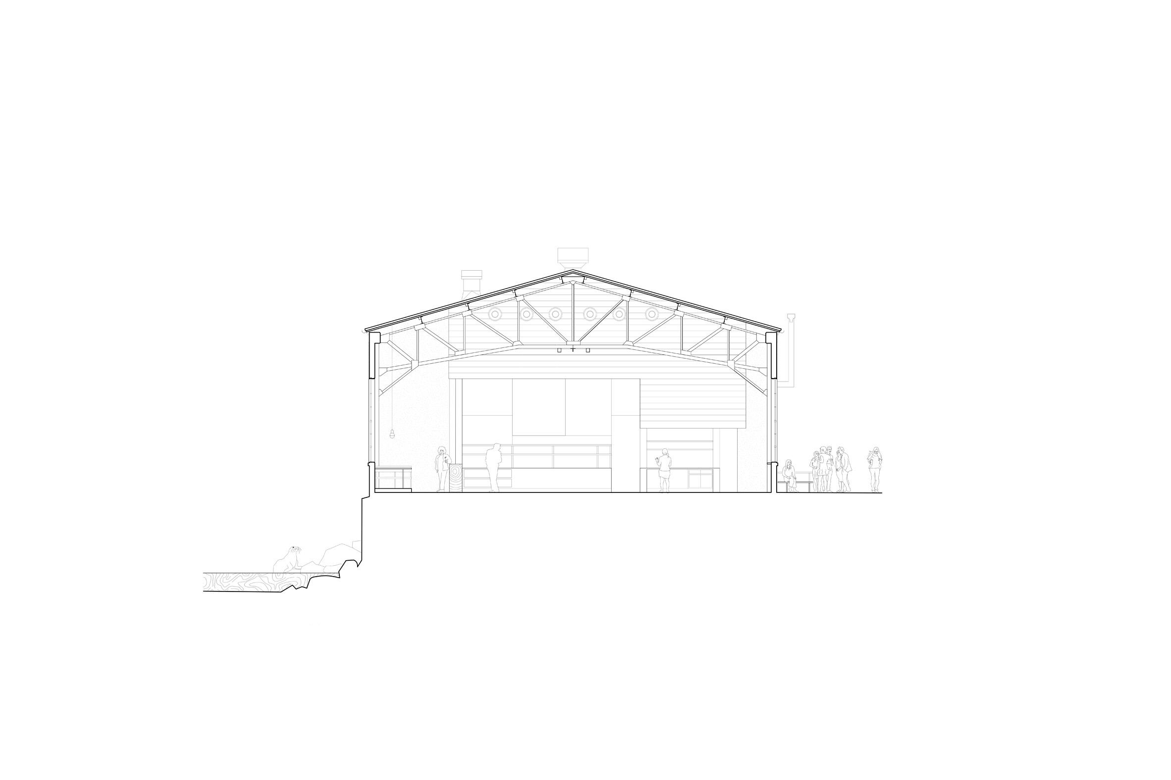 Thiết kế quán cafe80m2 10
