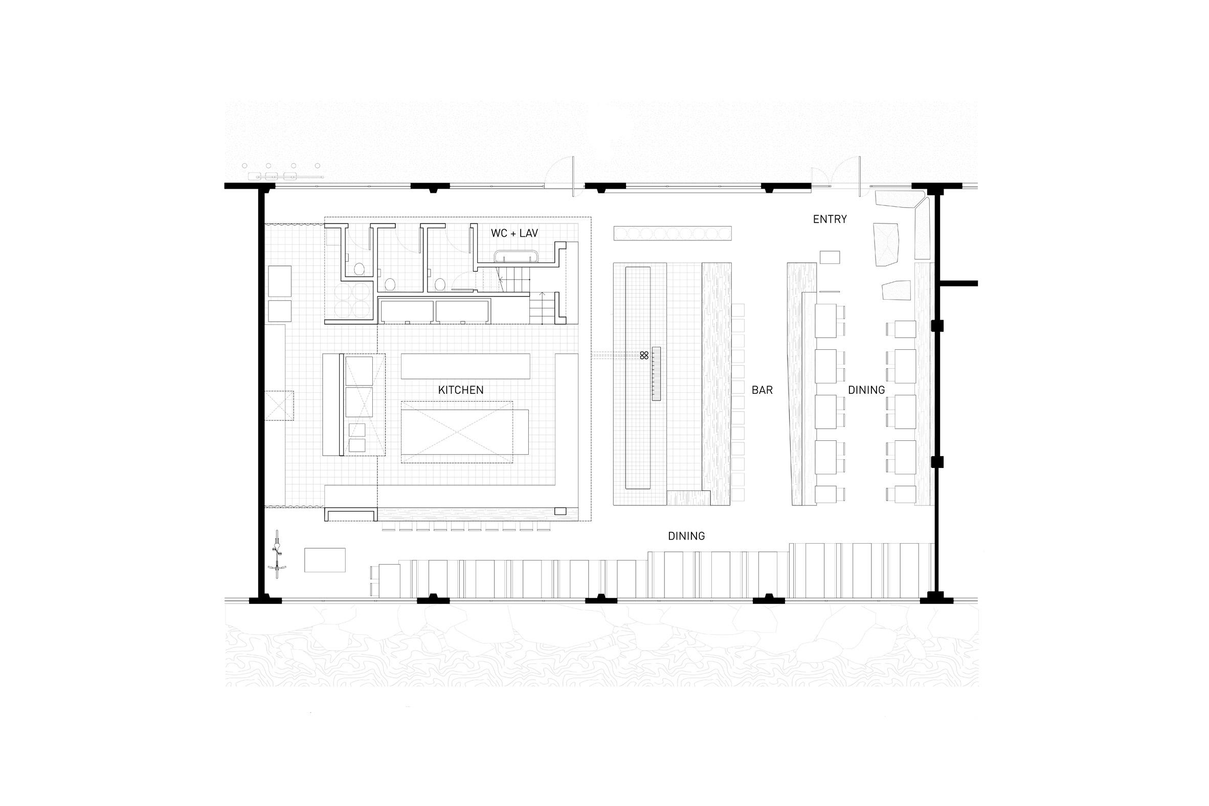 Thiết kế quán cafe80m2 9