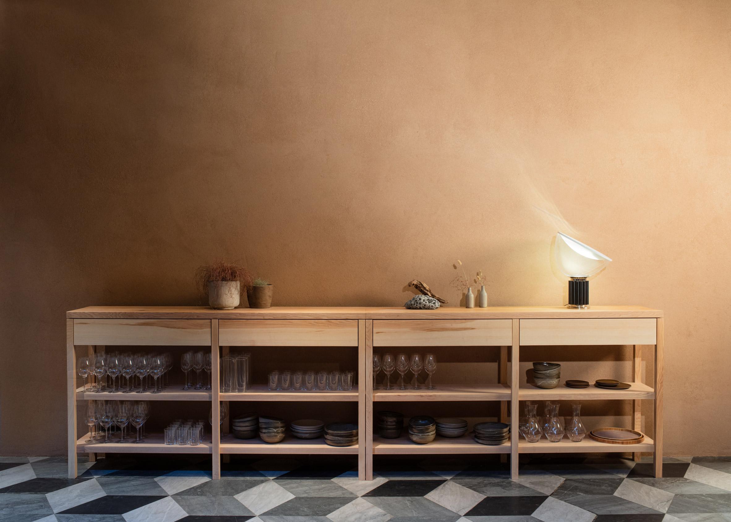 Thiết kế quán cafebằng gỗ 12