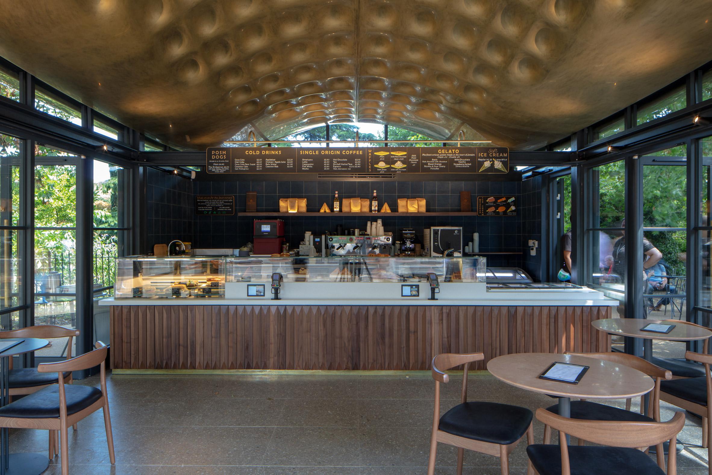 Thiết kế quán cafecóc 5
