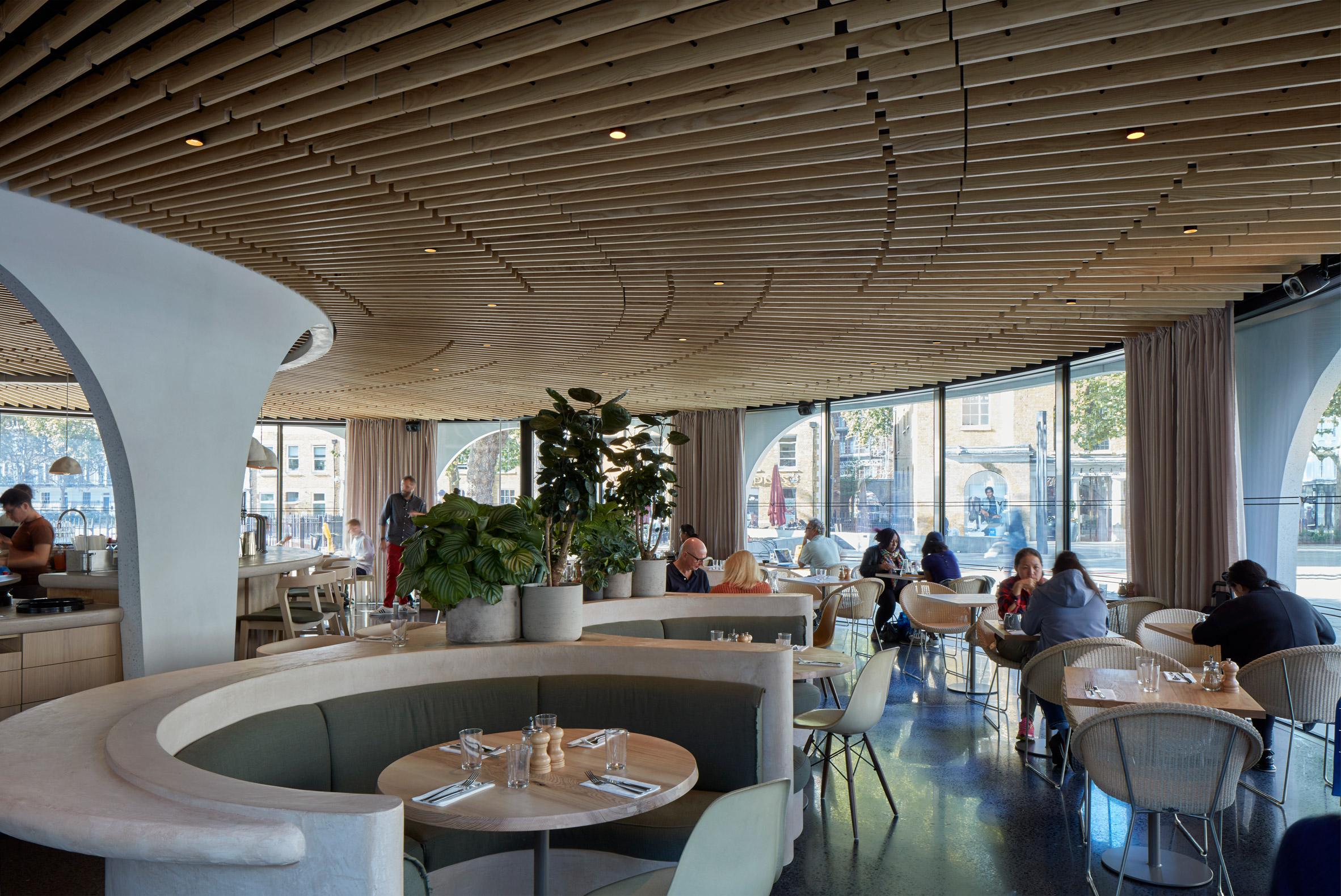 Thiết kế quán cafehiện đại 3