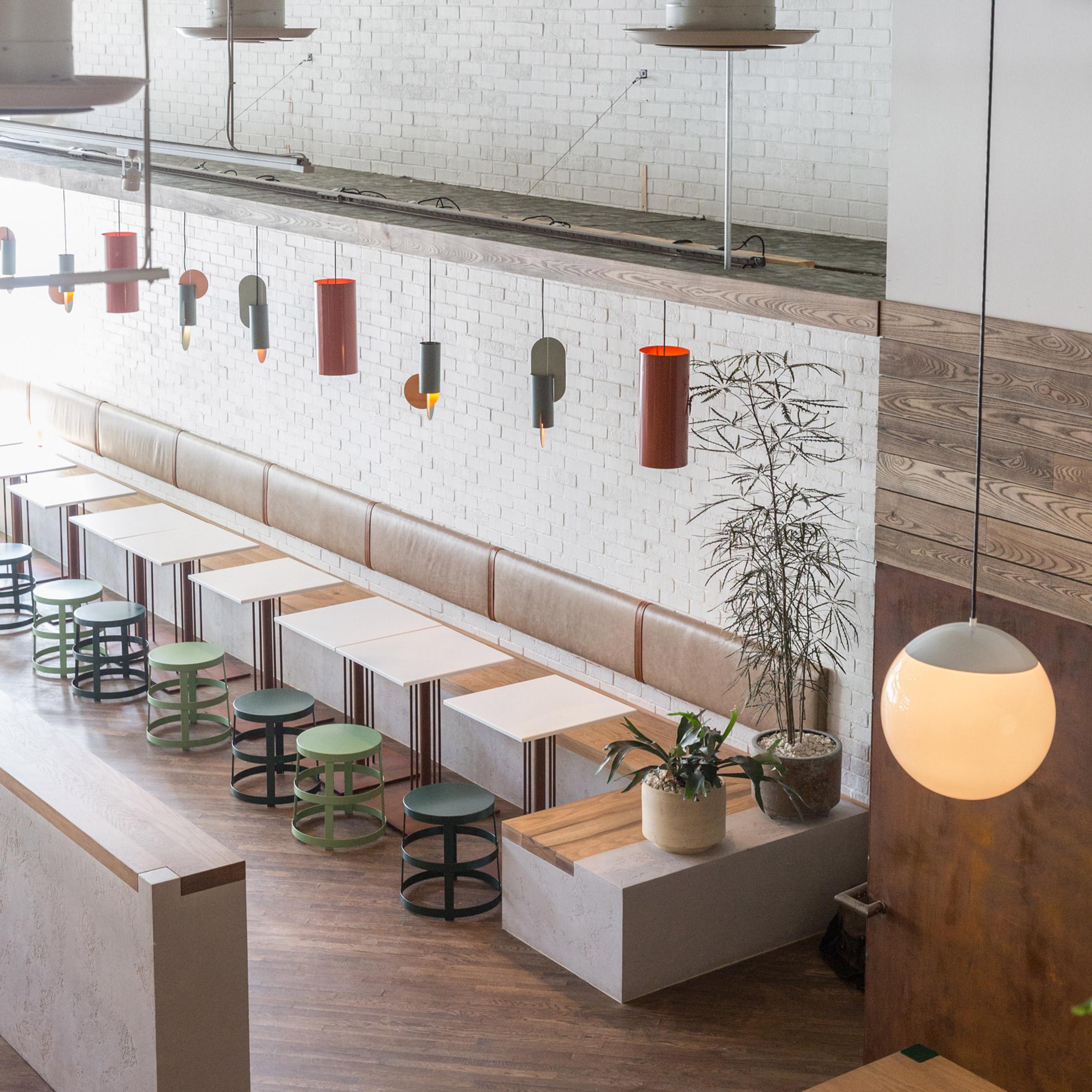 Thiết kế quán cafenhà ống 1