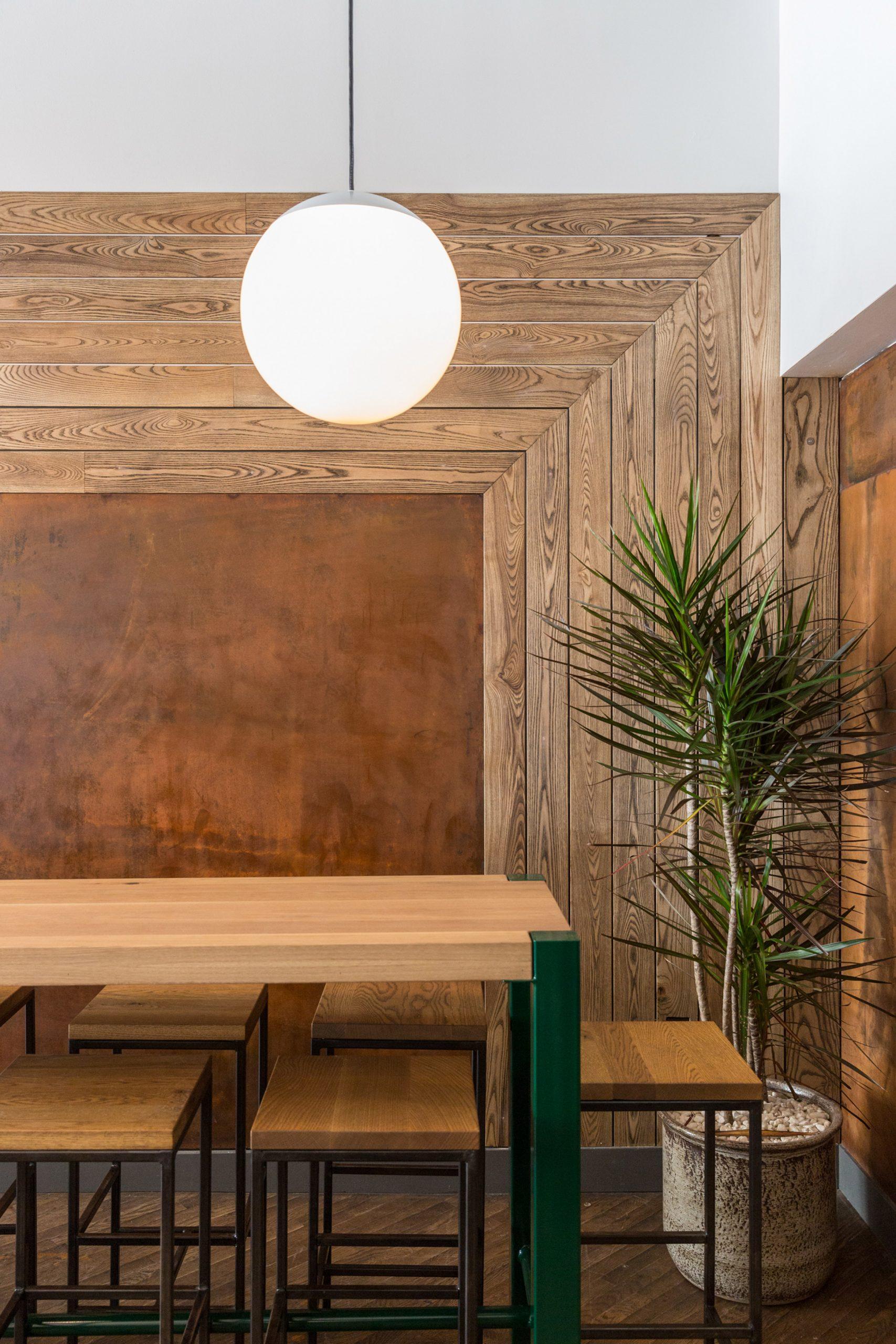 Thiết kế quán cafenhà ống 6